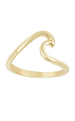 AUCOIN HART JEWELERS GOLD WAVE RING 410-520 product image