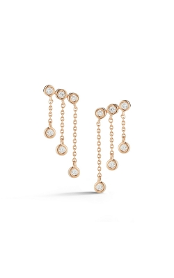 Graduated Chain Drop Earrings 150-00764 product image