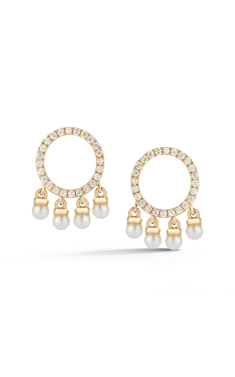DIAMOND AND PEARL EARRINGS 310-00266 product image