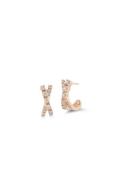 DIAMOND HUGGIE EARRINGS 150-15422 product image
