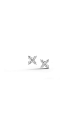DIAMOND X STUD EARRINGS 150-15421 product image