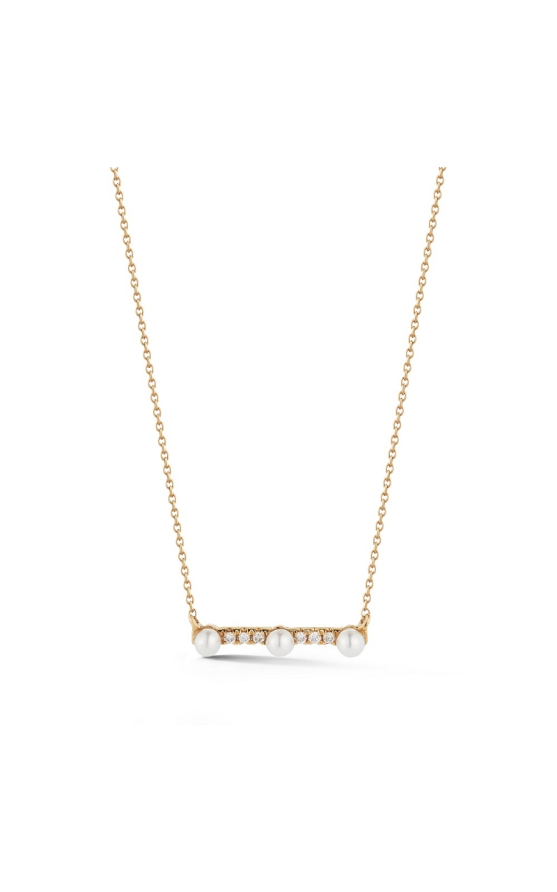 PEARL AND DIAMOND NECKLACE 325-03183 product image