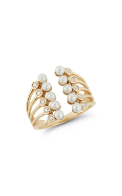 PEARL AND DIAMOND RING 300-00066 product image