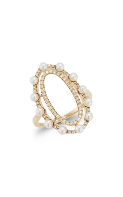PEARL AND DIAMOND RING 300-01051 product image