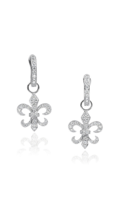 Fleur De Lis Earrings 155-01154 product image