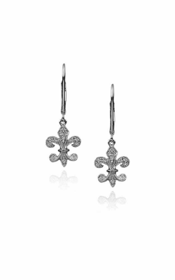 Fleur De Lis Earrings 155-03828 product image