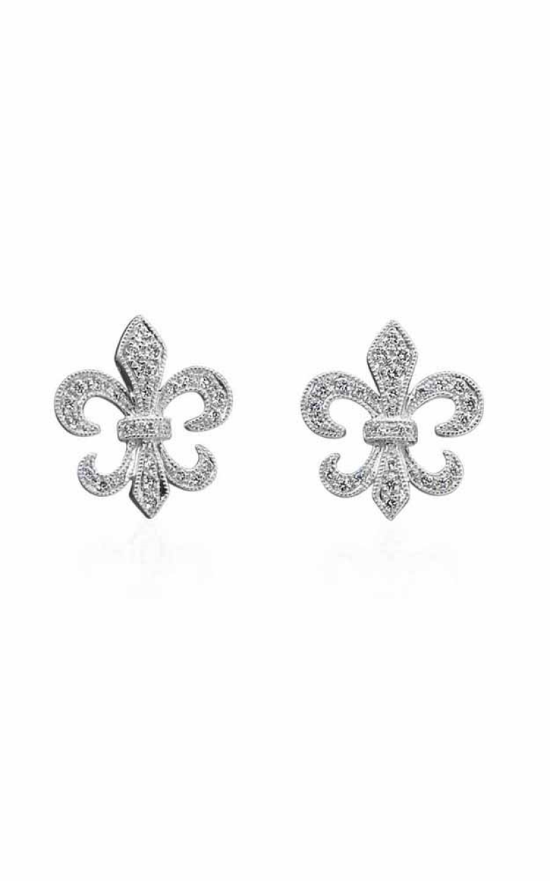 Fleur de Lis Earrings 155-03817 product image