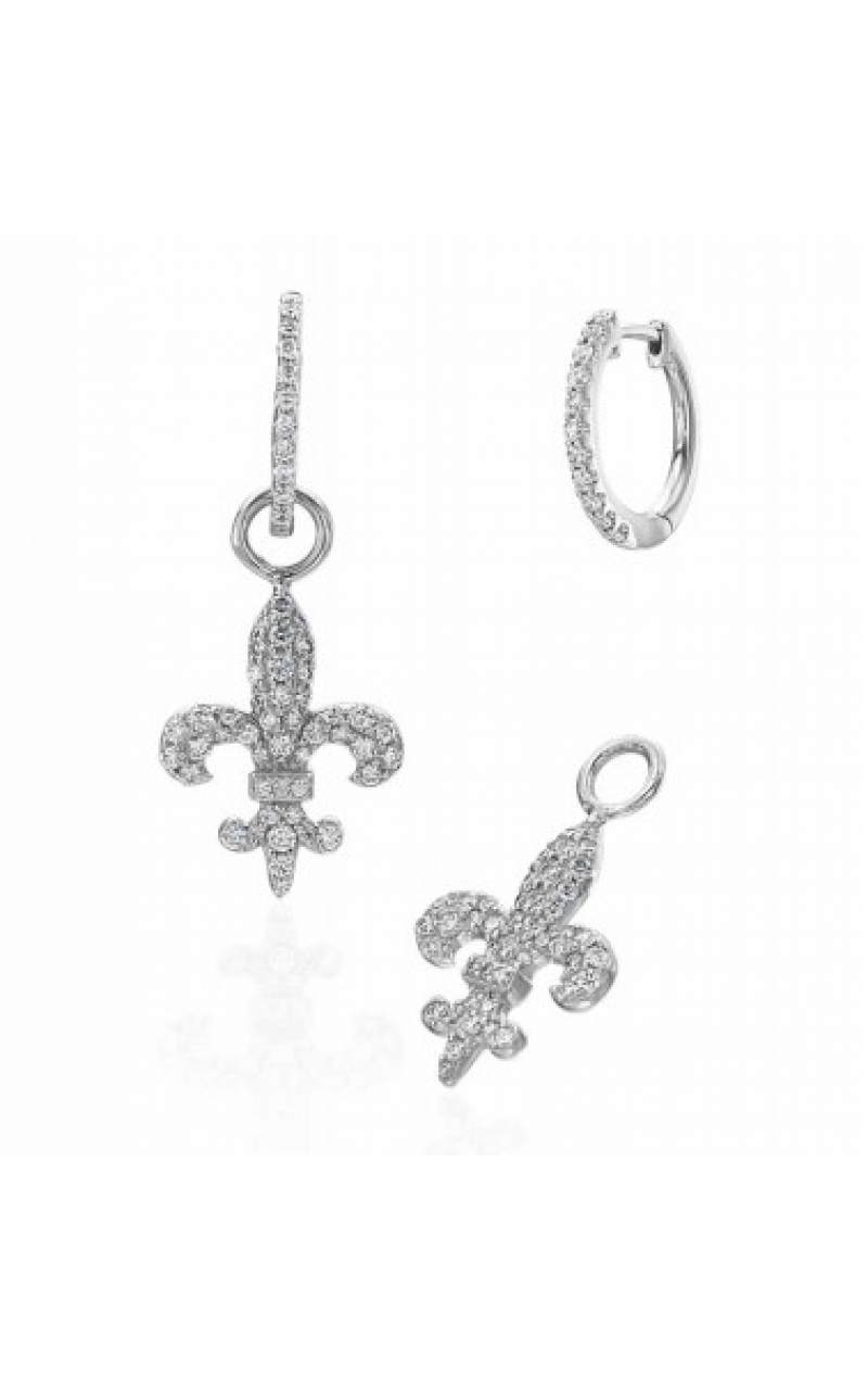 Fleur de Lis Earrings 155-03804 150-15379 product image