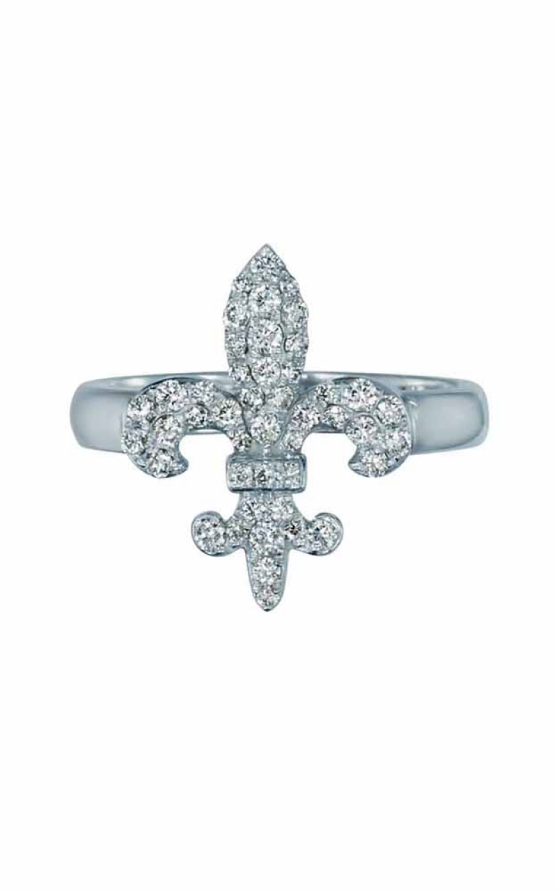 Fleur de Lis Fashion Ring 155-00023 product image