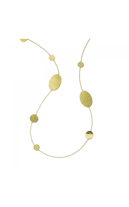 Classico Crinkle Station Necklace 431-01593 product image