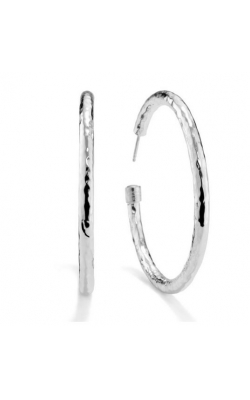 Classico Medium Hammered Hoop Earrings 645-01436 product image