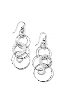 Classico Hammered Jet Set Earrings 645-01439 product image