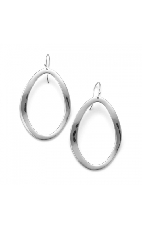 Classico Open Oval Wavy Earrings 645-01443 product image